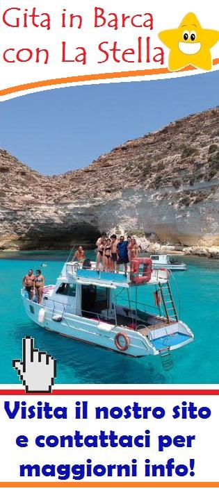 Gita in barca a Lampedusa
